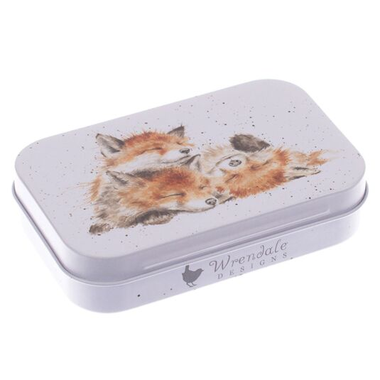 'The Afternoon Nap' Foxes Keepsake Tin