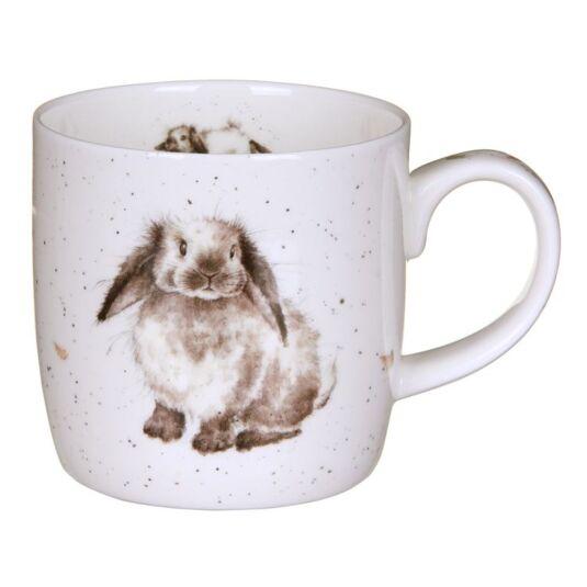 wrendale rosie rabbit mug from royal worcester. Black Bedroom Furniture Sets. Home Design Ideas