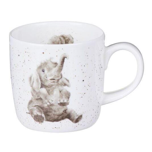 Role Model Elephant Mug From Royal Worcester
