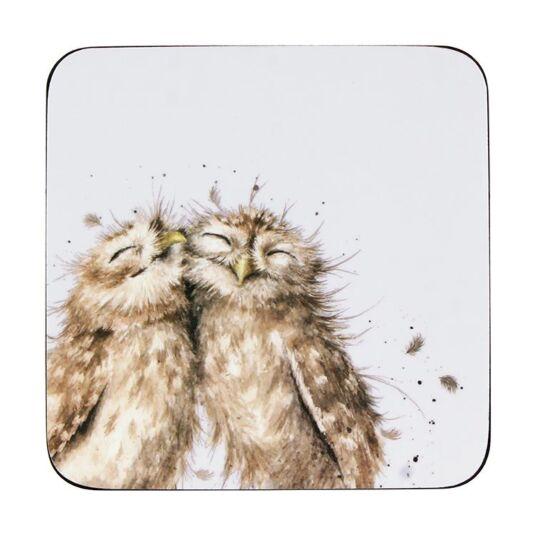 Owl Coasters Set of 6