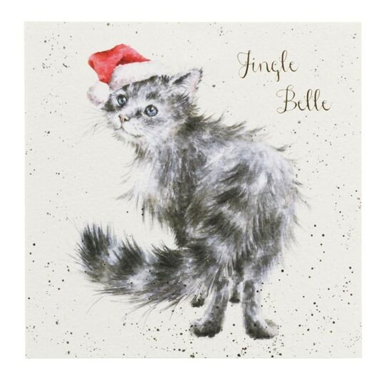 'Jingle Belle' Christmas Card