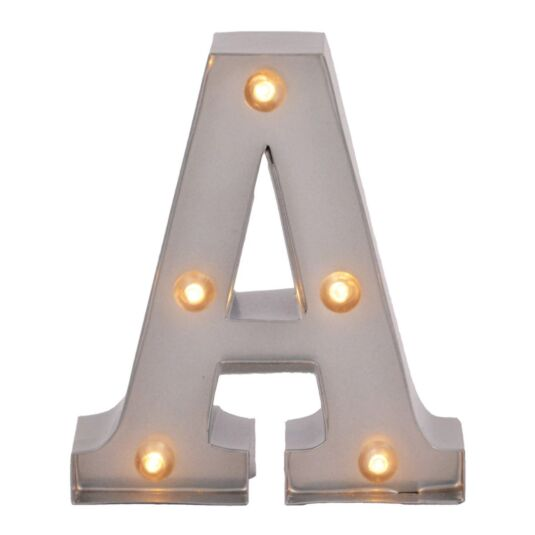 Mini Light Up Letters – A