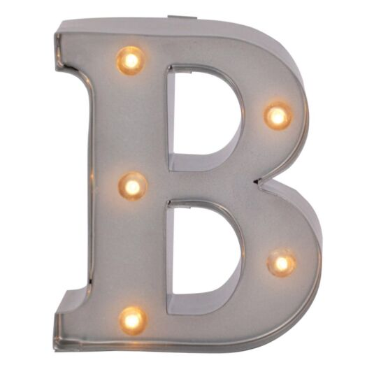 Mini Light Up Letters – B