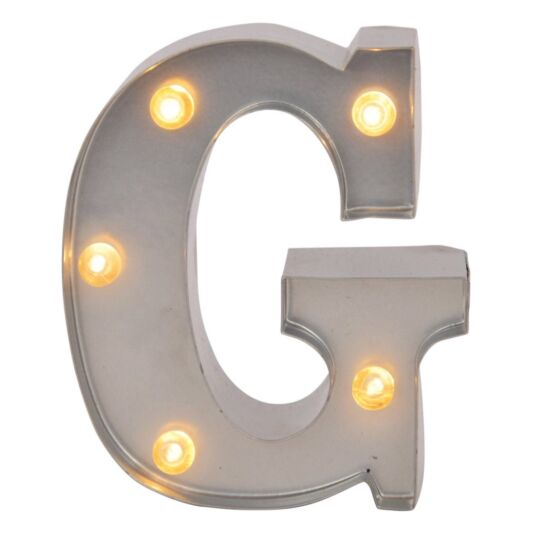 Mini Light Up Letters – G