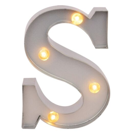 Mini Light Up Letters – S