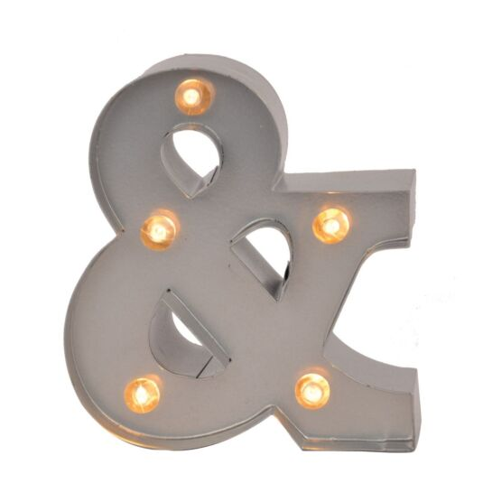 Mini Light Up Letters – &