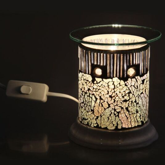 Glistening Glass Electric Melt Warmer