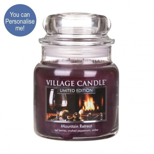 Mountain Retreat 16oz Jar Candle