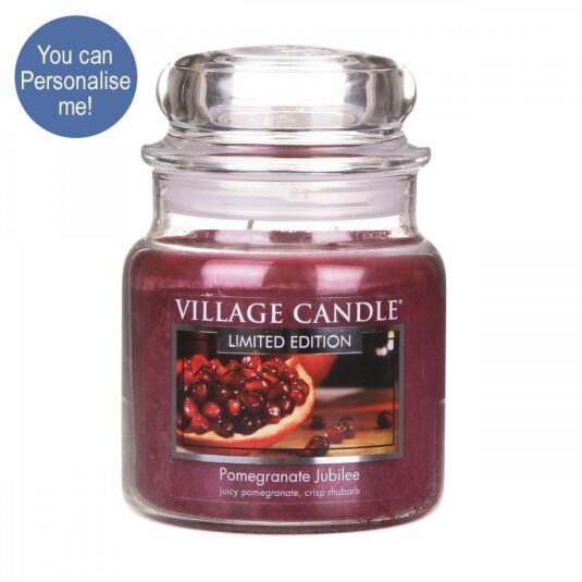 Pomegranate Jubilee 16oz Jar Candle