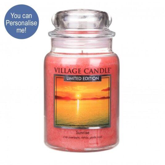Sunrise 26oz Large Jar Candle