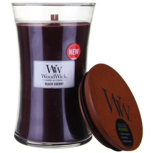 Black Cherry Large Candle