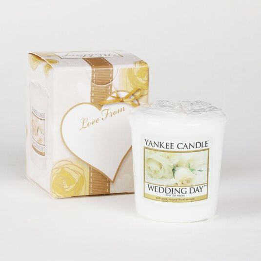 Yankee Candle Boxed Wedding Day Votive