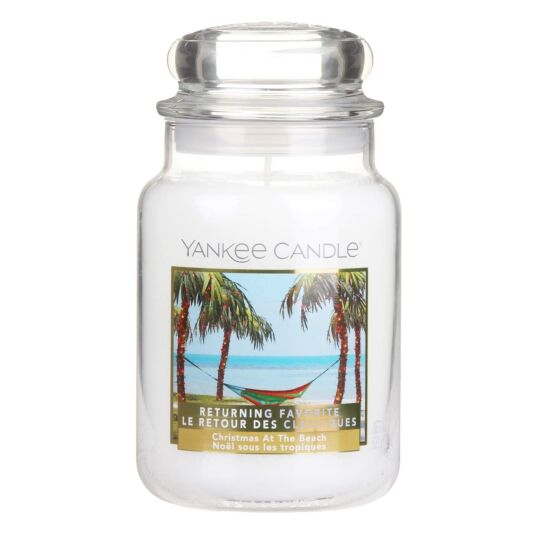 Yankee Candle Limited Edition Christmas at the Beach Large Jar Candle | Temptation Gifts