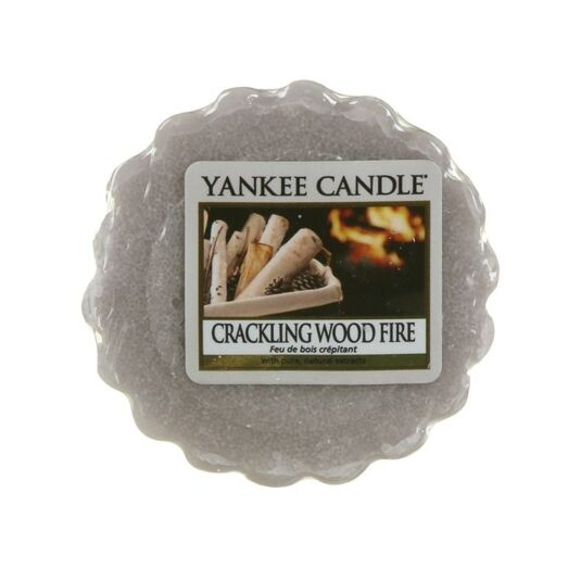 Yankee Candle Crackling Wood Fire Wax Melt | Temptation Gifts