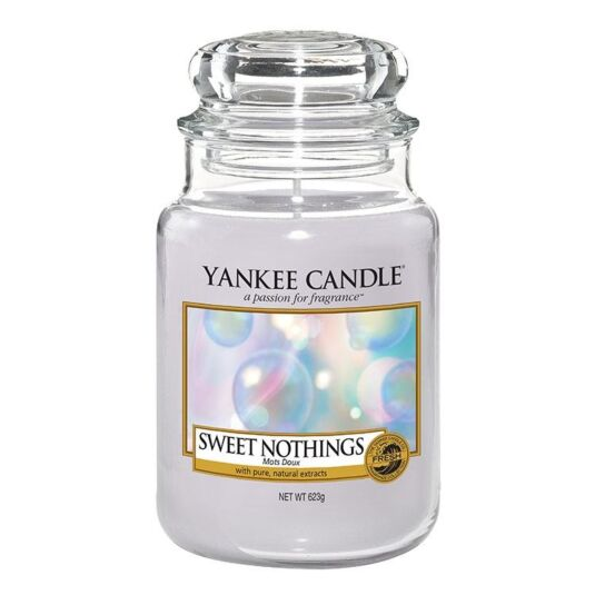 Sweet Nothings Large Jar Candle