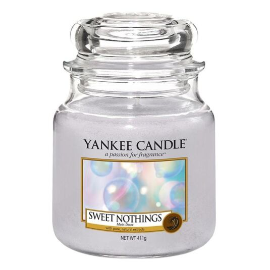 Sweet Nothings Medium Jar Candle