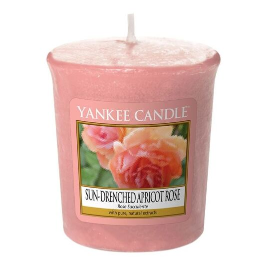 Sun-Drenched Apricot Rose Sampler Votive Candle
