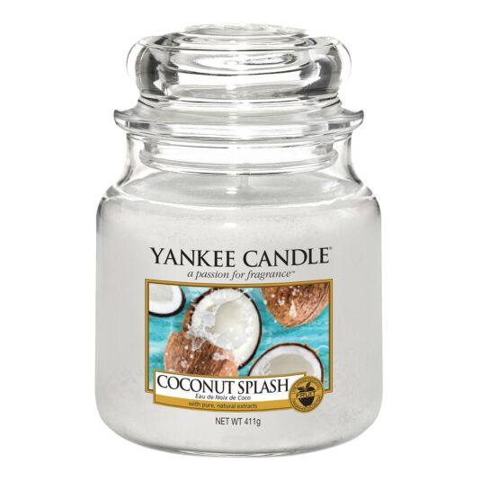 Coconut Splash Medium Jar Candle