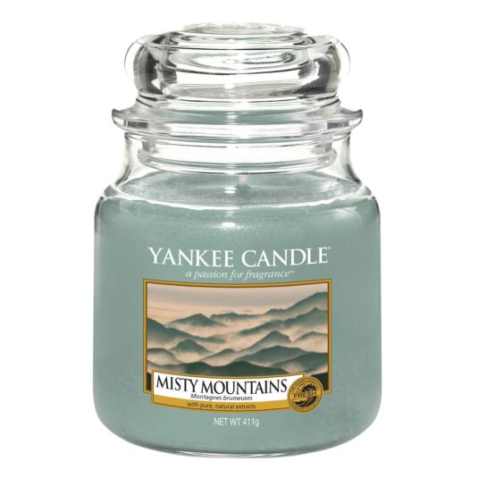 Misty Mountains Medium Jar Candle