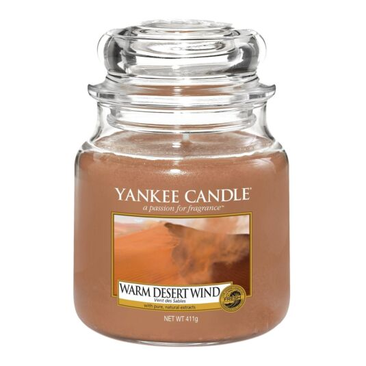 Warm Desert Wind Medium Jar Candle