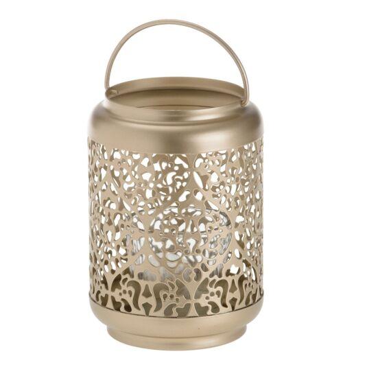 Champagne Pearl Votive Lantern