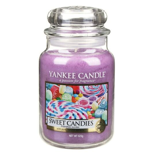 Sweet Candies Large Jar Candle