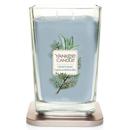 Coastal Cypress Large Elevation Candle