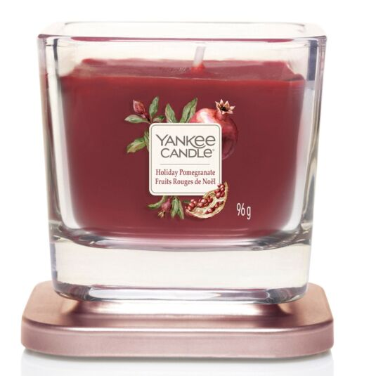 Holiday Pomegranate Small Elevation Candle