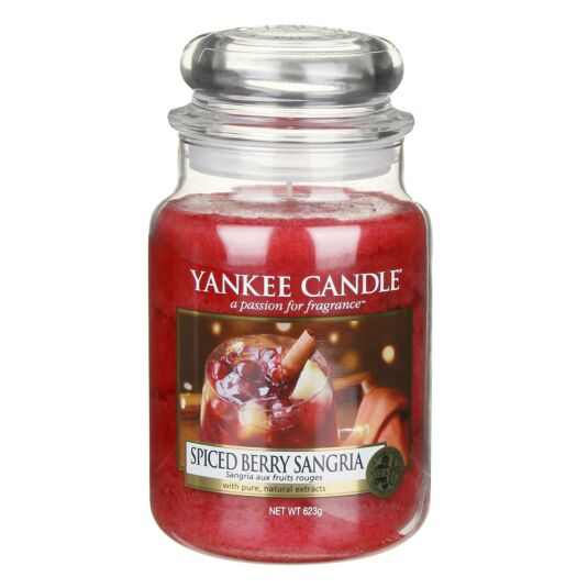 Spiced Berry Sangria Limited Edition Large Jar Candle