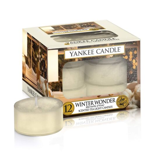 Winter Wonder Pack of 12 Tea Lights