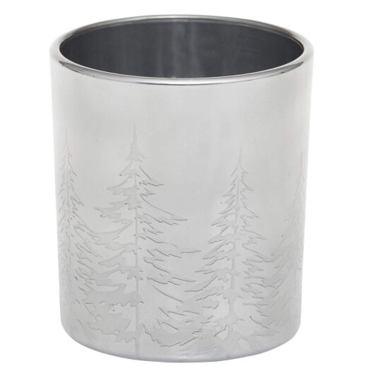 Winter Trees Votive Holder
