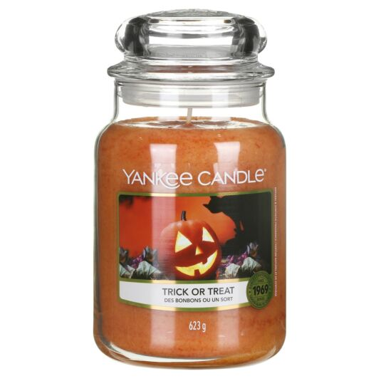 Trick or Treat Large Jar Candle
