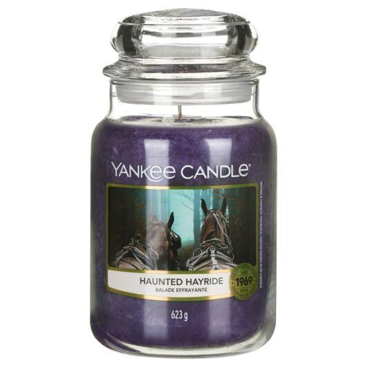 Haunted Hayride Large Jar Candle