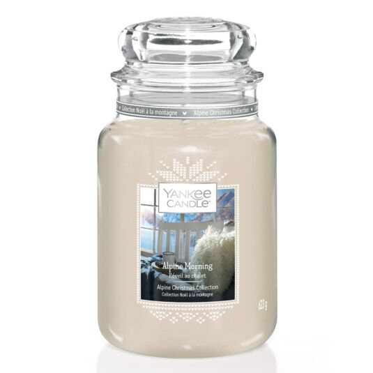 Alpine Morning Limited Edition Large Jar Candle