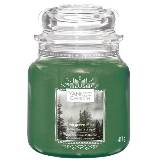 Evergreen Mist Medium Jar Candle