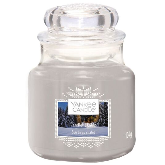 Candlelit Cabin Small Jar Candle