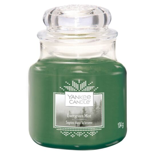 Evergreen Mist Small Jar Candle
