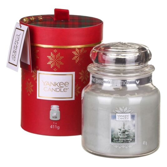 Alpine Christmas White Fir Medium Jar Gift Set