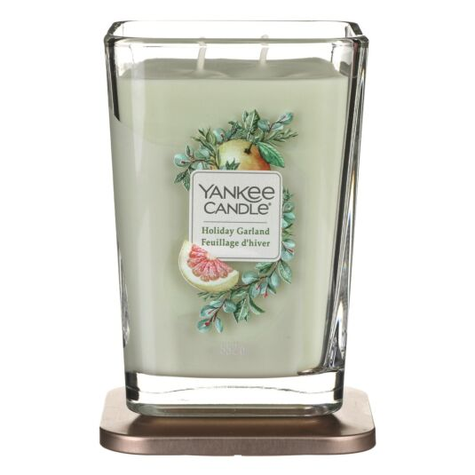 Holiday Garland Large Elevation Candle