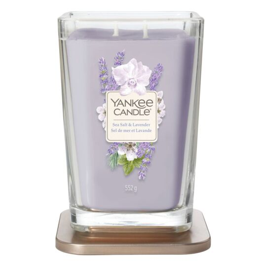 Sea Salt & Lavender Elevation Large Jar Candle