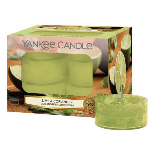 Lime & Coriander Pack of 12 Tealights