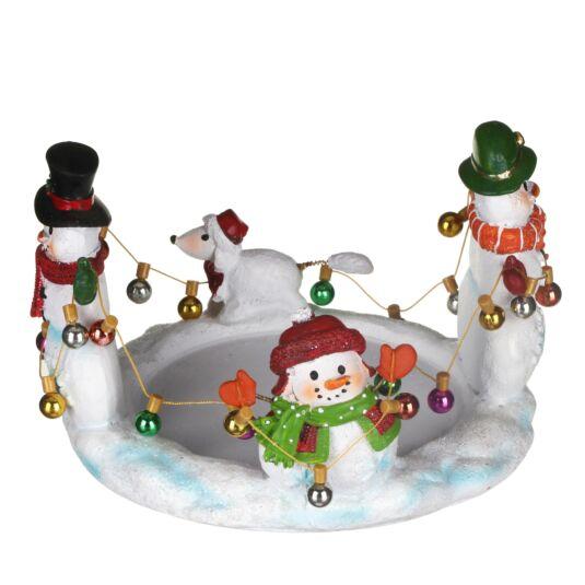 Snowman Large Jar Holder