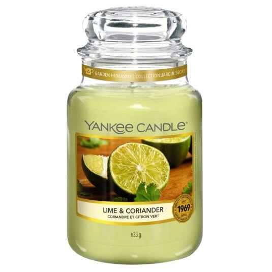 Lime & Coriander Large Jar Candle