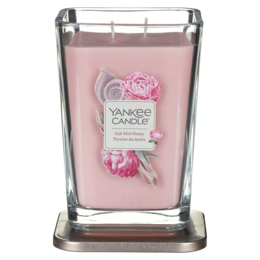 Salt Mist Peony Elevation Large Jar Candle