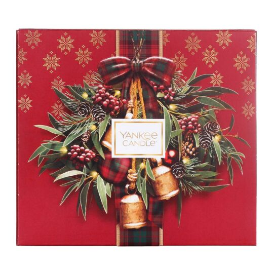 Alpine Christmas Votive Memory Gift Set