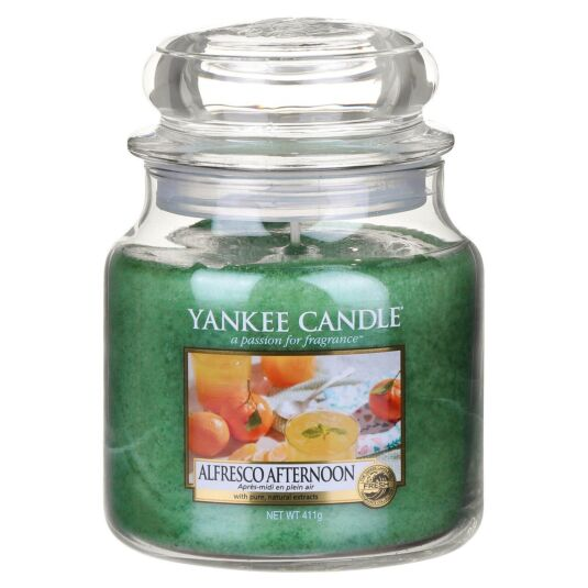 Alfresco Afternoon Medium Jar Candle