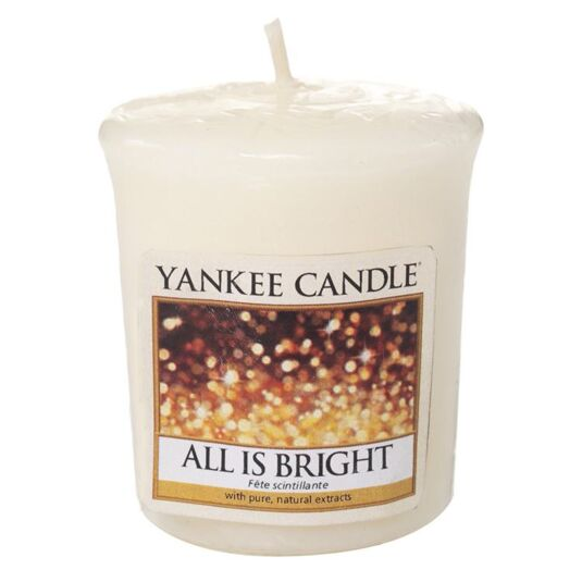 All Is Bright Sampler Votive Candle