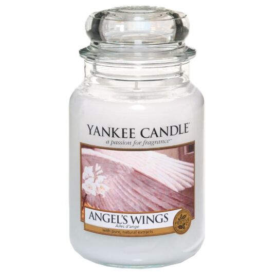 Angel's Wings Large Jar Candle