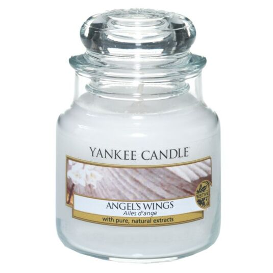 Angel's Wings Small Jar Candle