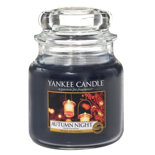 Autumn Night Medium Jar Candle